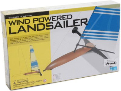 4M Science in Action Wind Powered Landsailer