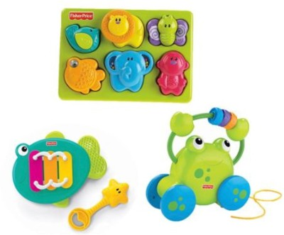 Fisher-Price Growing Baby 12 Month Gift Set
