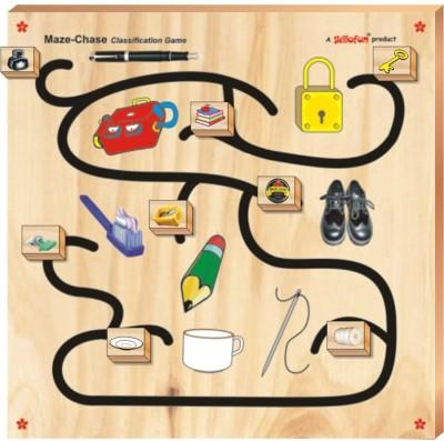 Skillofun Maze Chase-Classification Game