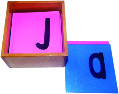 Kinder Creative Sand Paper Letter - Lower Alphabet