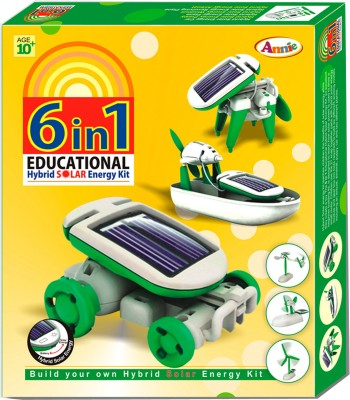 Annie Toys 6 in 1 Educational Hybrid Solar Energy Kit