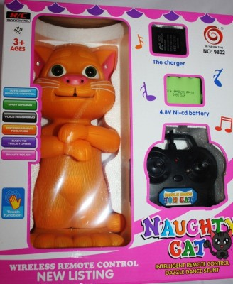 Aryas Naughty Intelligent Cat With Remote Control Dazzle Dance
