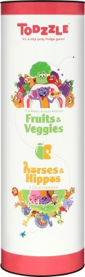 Madrat Todzzle Fruits & Veggies and Horses & Hippos