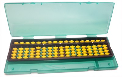 Djuize 17 Rod Yellow Abacus With Box