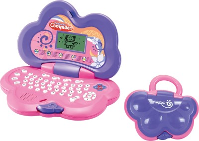 Toyhouse Educational Laptop with 25 functions, Mouse, LED Screen, Purple