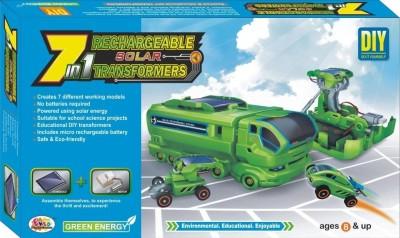 Ekta Ekta 7in1 Solar Kit Rechargeable Transformers DIY Kit