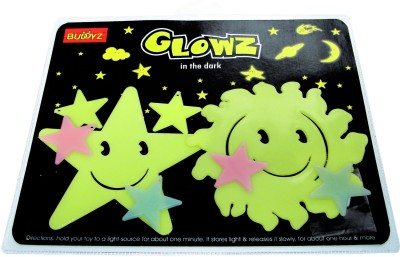 Buddyz Set of 2 - Glowz Smiling Star & Smiling Sun for Kids