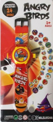 Shop & Shoppee Angry Bird Projector Wristband - 24 Images