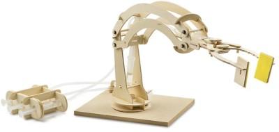 Sabmatt Hydraulic Robotic Arm - DIY wooden kit