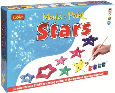 Buddyz Mould & Paint Do-it-Yourself Stars for Kids