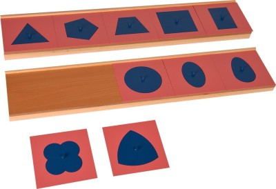 Kidken Montessori Drawing Insets with painted stand