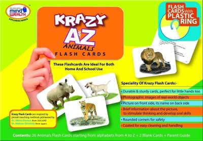 Mind Wealth Krazy A to Z Animal With Ring