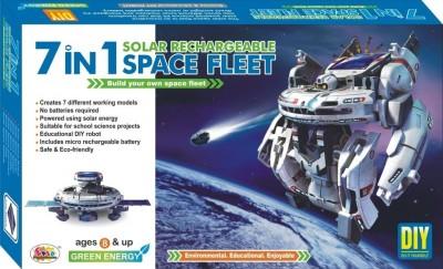 Ekta Ekta 7in1 Solar Kit Rechargeable Space Fleet DIY Kit