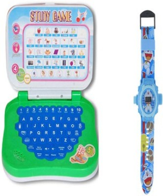 aquaras mini learning laptop and doremoan watch