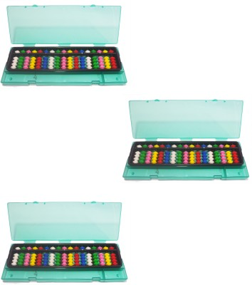 Djuize 17 Rod Multicolor Abacus&Box Set Of 3