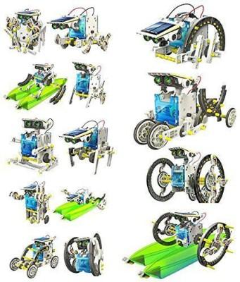 Ditu&Kritu 14 In 1 Educational Solar Robot Kit