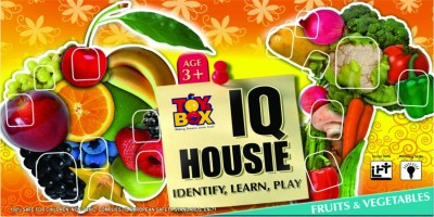 Toysbox I.Q.Housie Fruit And Vegetables