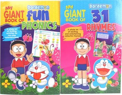 Doraemon My Giant Book Of 31 Rhymes/Phonics