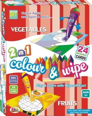 Ekta Ekta Colour & Wipe Vegetables And Fruits