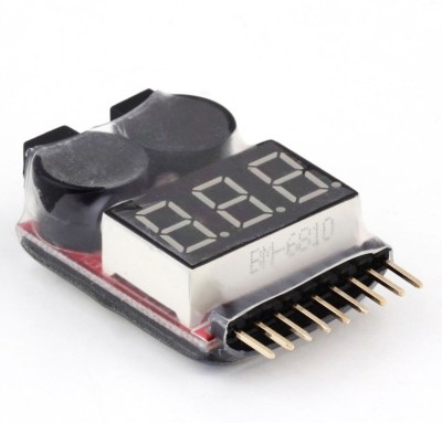 Grab,eM BATTERY INDICATOR + Buzzer 1-8 Cell