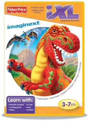 Fisher-Price Learning System Software Imaginext Dinosaurs