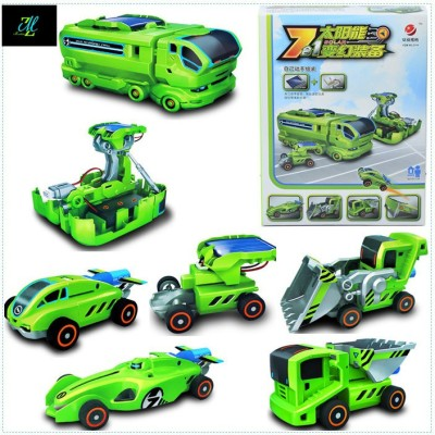 Montez 7 in 1 Changeable Solar Equipment Educational Game