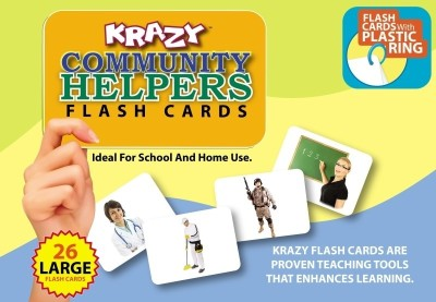 Mind Wealth Krazy Community Helpers With Ring