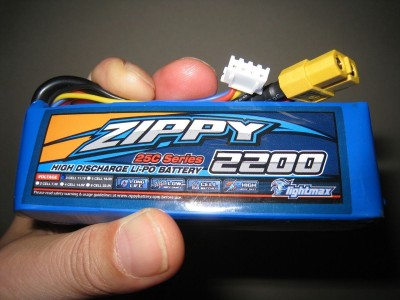 Rotobotix Zippy Flightmax 2200mah - 25c Lipo Battery