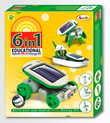 Annie 6 in 1 Series -1 Educational Hybrid Solar Energy Kit