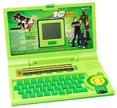 Shop & Shoppee Ben 10 Learner Laptop For Kids(Green)