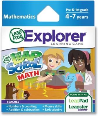 LeapFrog Leapster Explorer Game Leapschool Maths