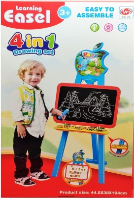 Darling Toys 4 in 1 Learning Easel Set