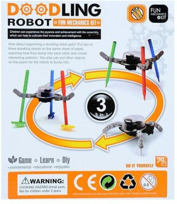 Cute Sunlight 3 in 1 Doodling Robot Mechanics Education