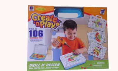 Shop & Shoppee Create ,n, Play Game - Built in 106 Assembled parts