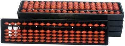 SAE FASHIONS Brown 17 Rod Abacus Kit Type 2 Set Of 5