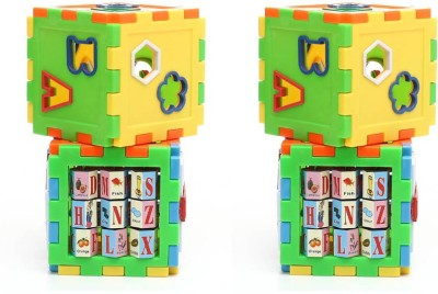 Shop & Shoppee Combo of Play And Learn All In One Cubes Game