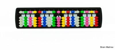 Brainmatrixx 17 Rods Multi Colour Student Abacus