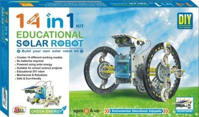 Ekta Ekta 14in1 Educational Solar Robot DIY Kit