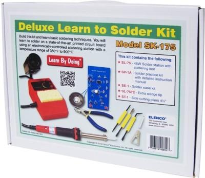 Elenco Deluxe Learn to solder kit