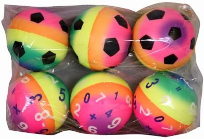Smiles Creation Set Of 6 Soft Balls