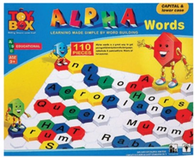 Toysbox Alpha Words - Capital & Lower Case