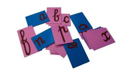 ABC Kids World Sand Paper Alphabets Cursive