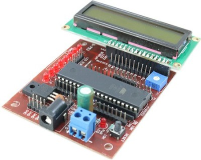 Robomart At89sxx Development Board With Lcd Interfacing