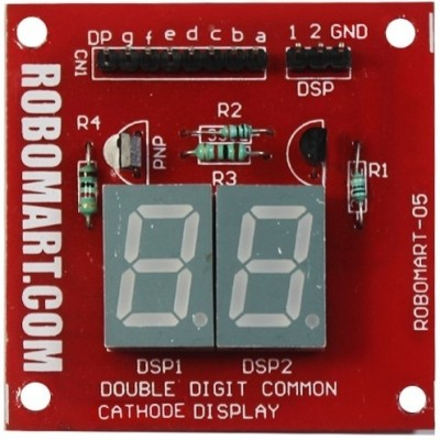 Robomart Double Digit Common Cathode Seven Segment Display
