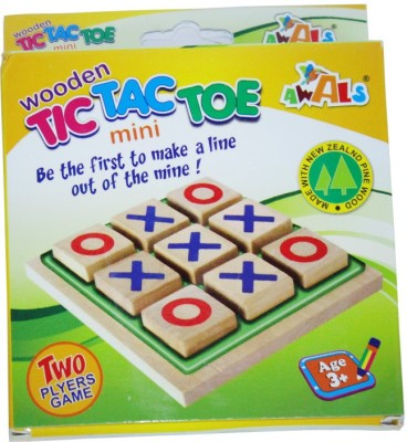 DreamBag Wooden TIC TAC TOE