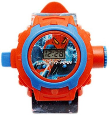Kidsglee New Pinch Spider Man Projector Watch-24 Images