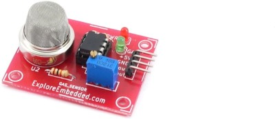 Explore Embedded Smoke Sensor (MQ2) board
