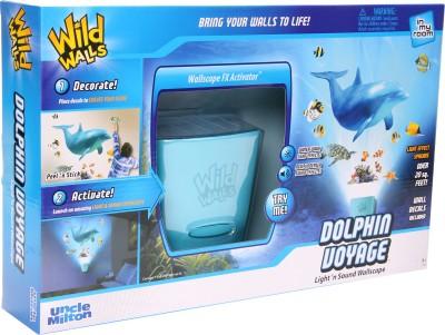 Uncle Milton Wild Walls Dolphin Voyage