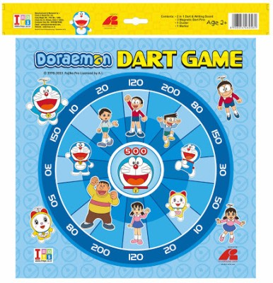 itoys Doraemon dart game & writing board
