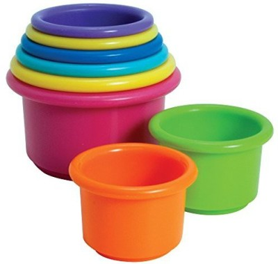 The First Years Stacking Up Cups(Multicolor)